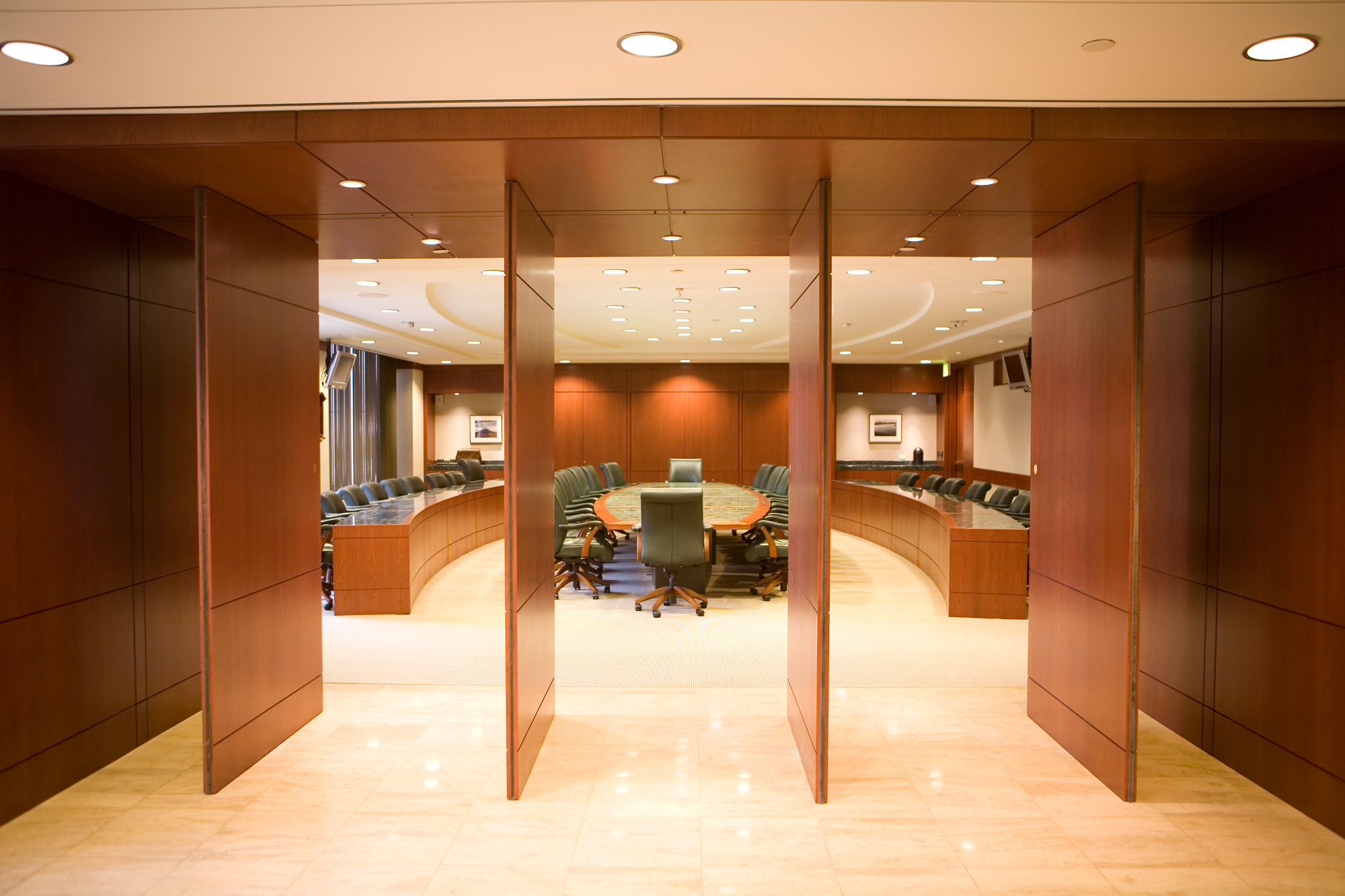 CAP board room