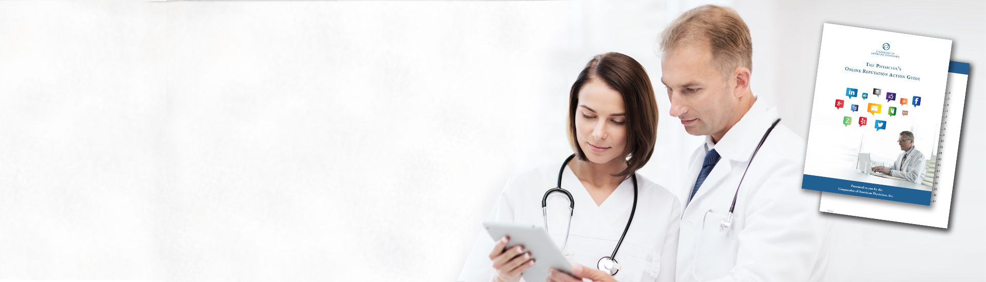 physicians with practice guides