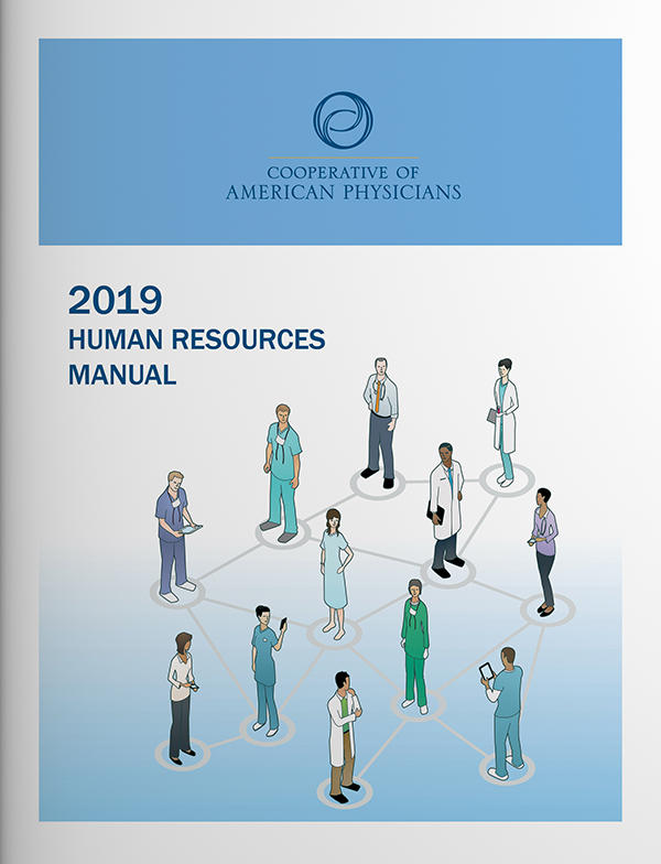 Cover of CAP's 2019 Human Resources Manual
