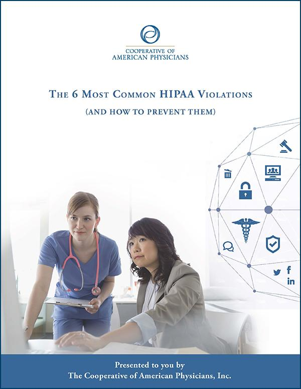 The 6 Most Common HIPAA Violations