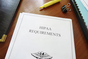 hipaa requirements document