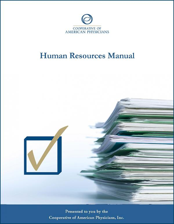 CAP Human Resources Manual