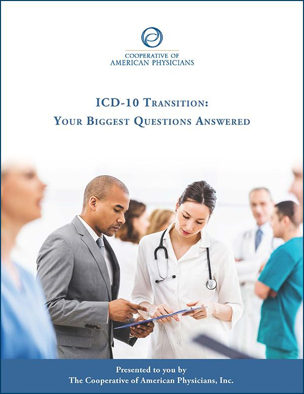 ICD-10 Transition booklet cover