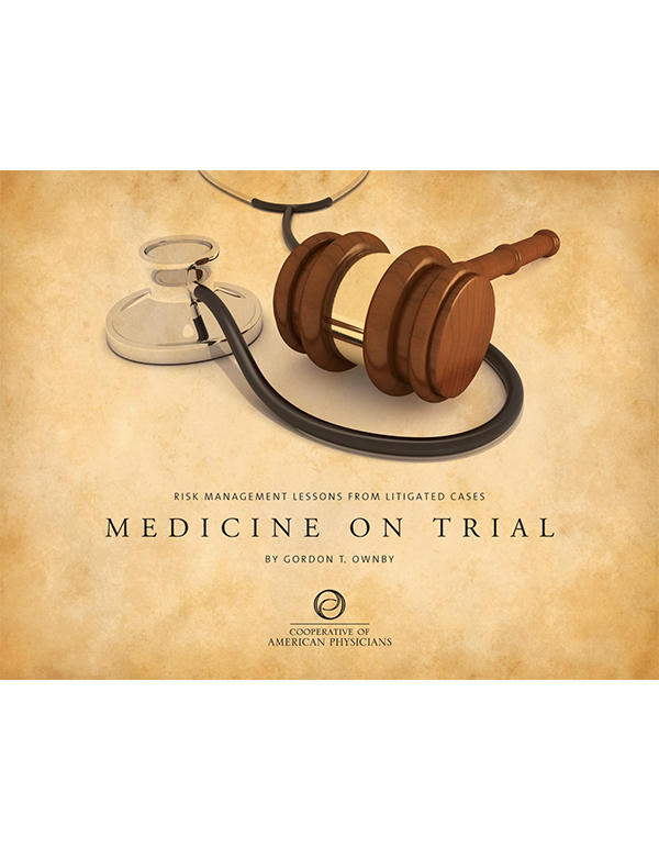 Medicine on Trial cover