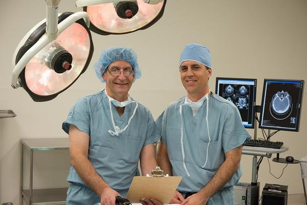 Dr. Ted Mazer and Dr. Michael Couris