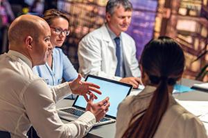 Doctors in Meeting