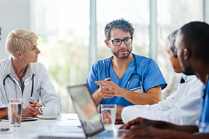 physicians discussion