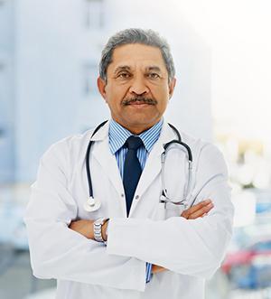 Solo Physician Portrait